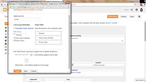 cara membuat daftar pustaka jika mengambil dari internet cara membuat daftar laman di blog