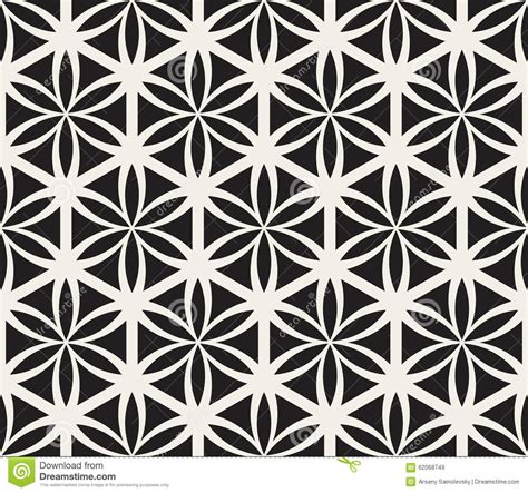 geometric patterns black and white circle vector seamless black and white flower of life sacred