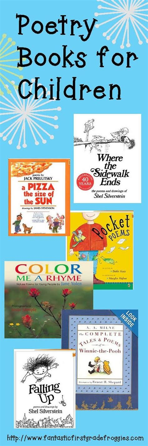 poetry picture books for children 17 best images about poetry on poems