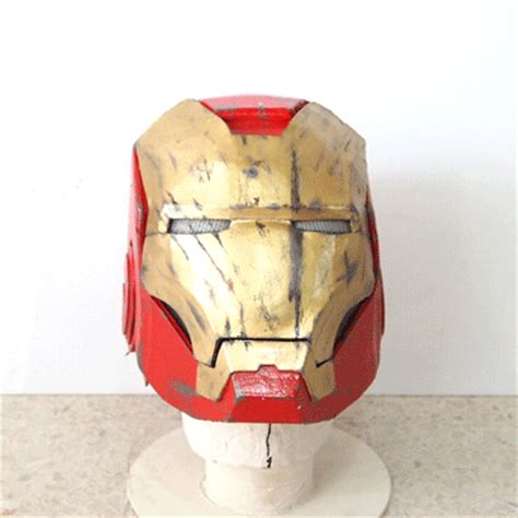 dali lomo iron man 4 costume helmet diy cardboard with