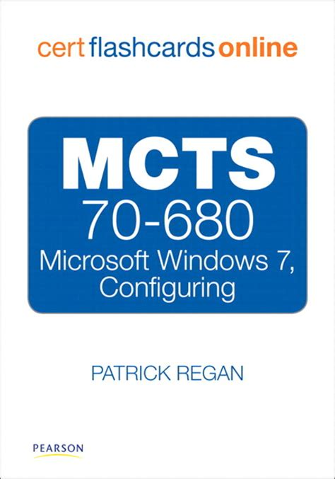 Microsoft Gift Card Online - mcts 70 680 cert flash cards online microsoft windows 7 configuring pearson it