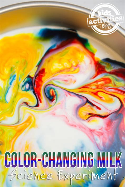 color changing milk experiment color changing milk science experiment