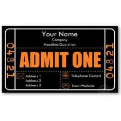 Admit One Ticket Template by Blank Admit One Ticket Template Polyvore