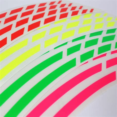 Felgenrandaufkleber Motorrad Entfernen by Felgenrandaufkleber Gp Style Neon Farben