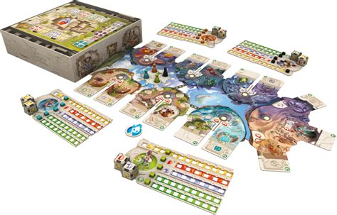 board game layout software asmodee announces dice forge board game tabletop gaming news