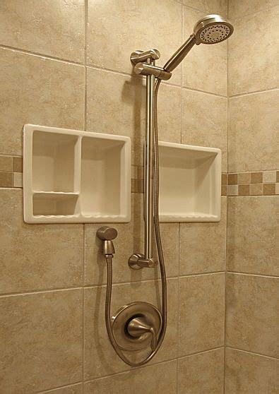Shower Shelf Inserts by Porcelain Shower Shelf Insert Bathroom Ideas