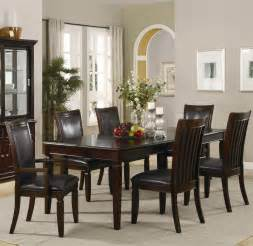 Formal Dining Table And Chairs Ramona Formal 7 Pcs Dining Set Table 2 Arm Chairs And 4 Chairs Coaster Co Dining Sets