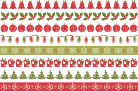 christmas pattern border borders christmas 187 designtube creative design content