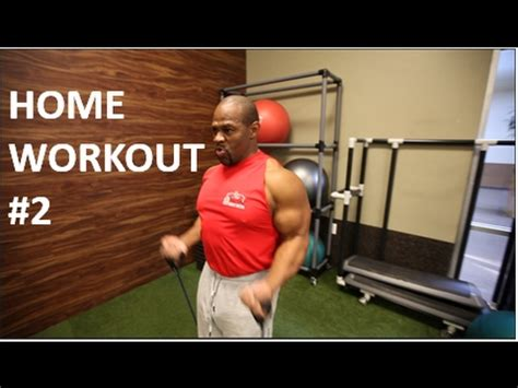 home workout 2 back biceps and traps