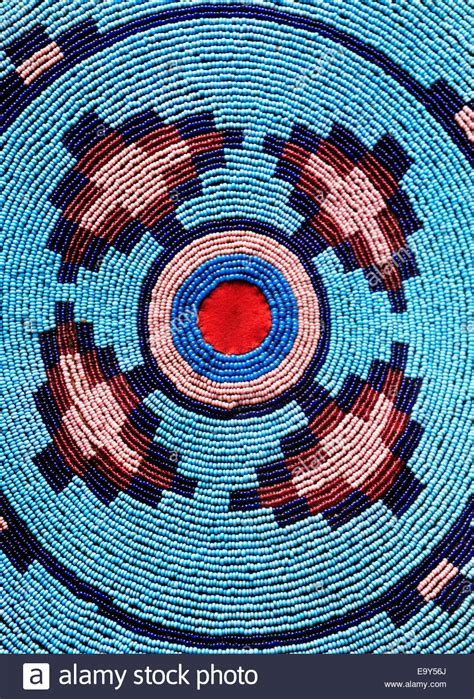 beadwork blue aboriginal beadwork indian blue pattern bead