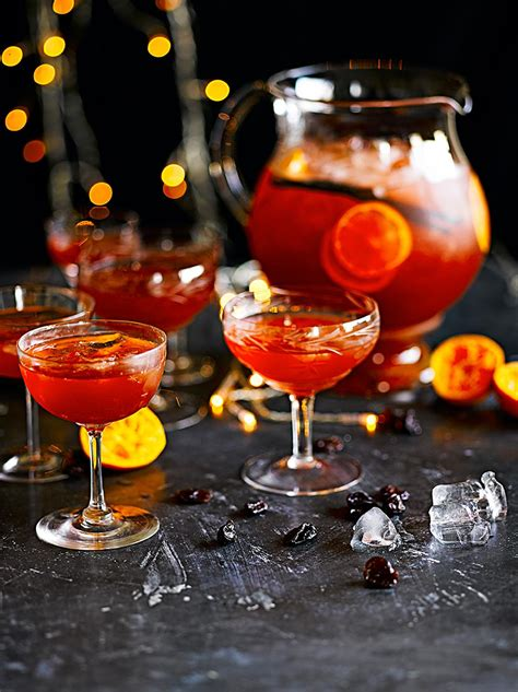 party cocktails christmas punch