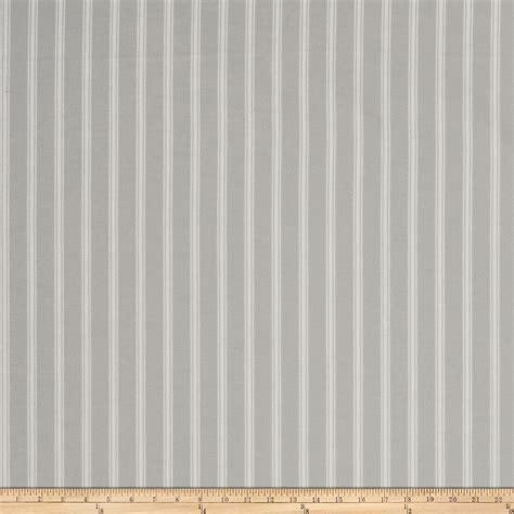 ticking fabric curtains vertical ticking stripe ivory grey discount designer