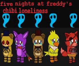 Five nights at freddy s chibi loneliness by pokemonlpsfan on