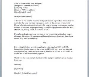 friendly letter requesting payment 3
