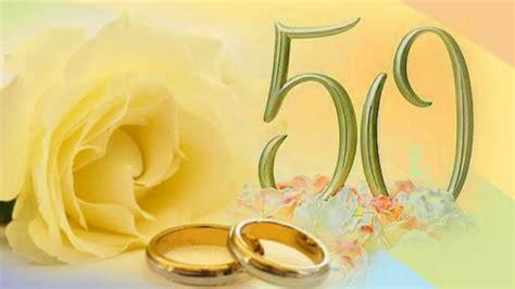 fiori per 50 anni di matrimonio 50 anni di matrimonio nozze d oro videodedica