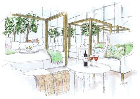 visual communication and design rendering a schematic life colouring book sky lounge colour rendering