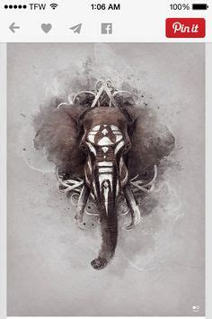 tattoo room bandung elephant head indian art art pinterest beautiful