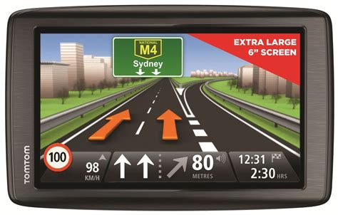 tomtom s new via 620 gps has a 6 inch screen