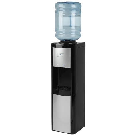 what temperature is water at room temperature vitapur top load cold and room temperature water dispenser in black and platinum vwd266blp the
