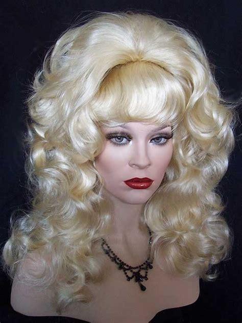 peg bundys hairstyle peg bundy beehive drag wig pale blonde wigs and weaves
