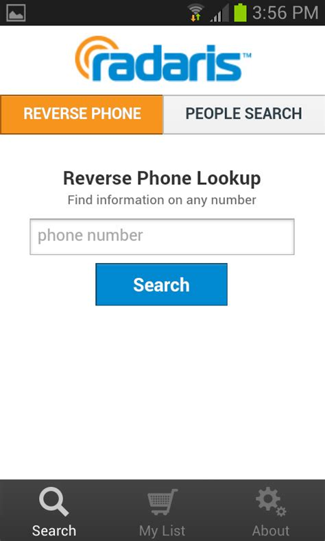 1 Phone Lookup Phone Lookup Radaris Android Apps On Play