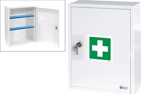 cassetta pronto soccorso scuola firstmed armadietto medicinali da appendere cassetta
