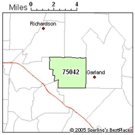 garland texas zip code map best place to live in garland zip 75042 texas
