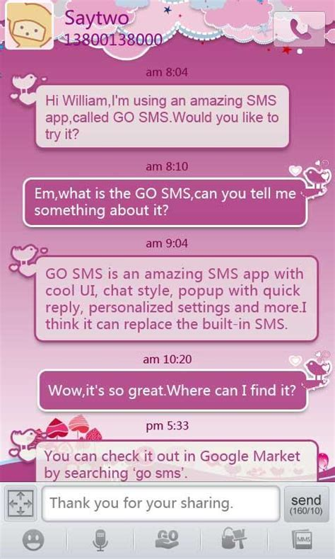 Download Themes Go Sms Pro | download gratis go sms pro bird lover theme gratis go sms