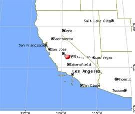 exeter california map exeter california ca 93221 profile population maps
