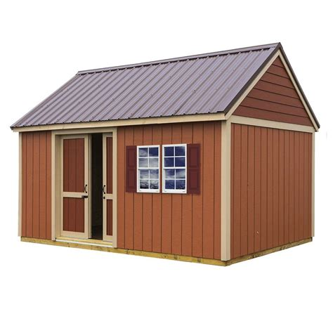 barns brookhaven  ft   ft storage shed kit