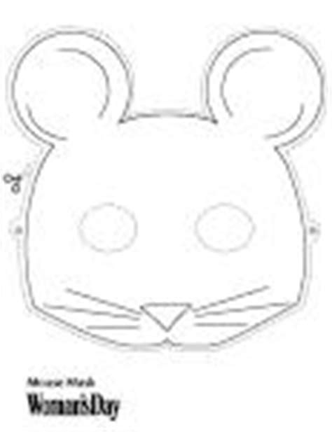 mouse mask template cake ideas and designs