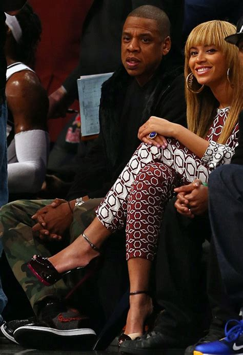 Jumsuit Fallency courtside fab z beyonce get cozy at the