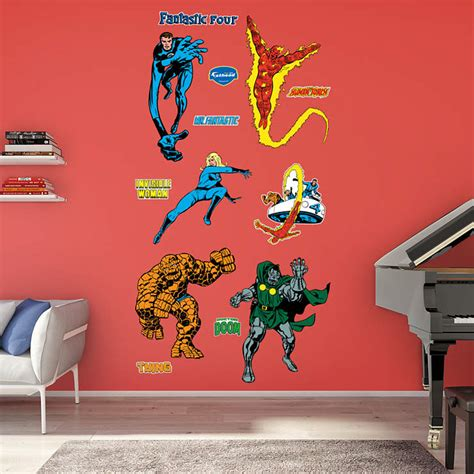 Fantastic Decor Coupons by Classic Fantastic Four Wall Decal Shop Fathead 174 For