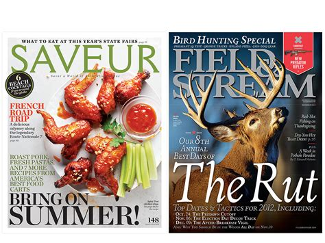 bonnier s saveur and field stream named national magazine awards finalists bonnier corporation