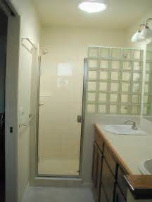 glass blocks bathroom walls showers are awesome construction inc