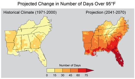 louisiana map climate change nine maps that show how climate change is already