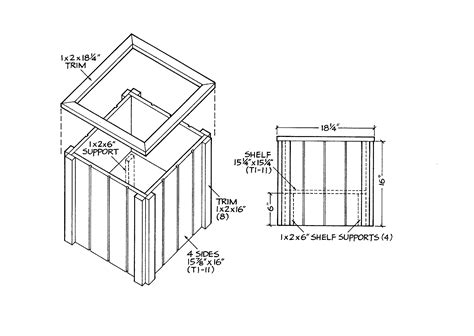 the shedplan outhouse tool shed free plans
