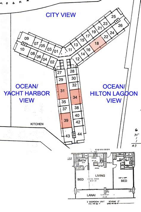 ilikai hotel floor plan ilikai apartments honolulu hawaii condo by hicondos