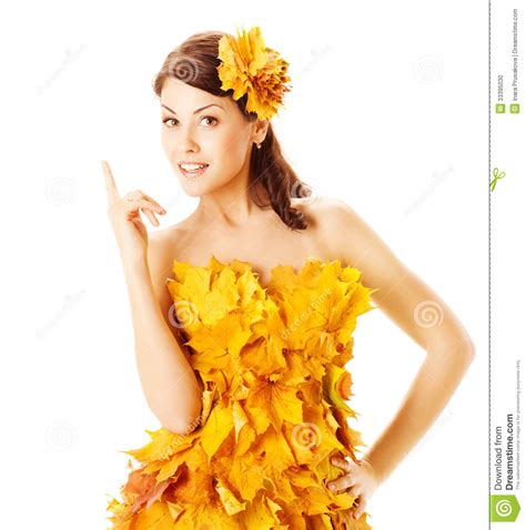 45215 White Autumn Leaves S M L Dress Le180118 Import autumn in yellow dress of maple leaves stock photo image of background exclamation