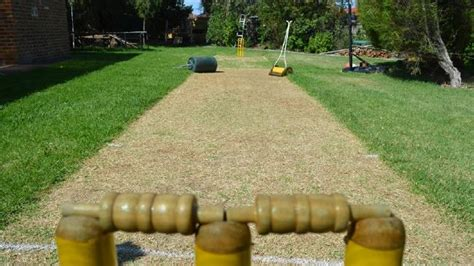 backyard cricket pitch make a backyard cricket pitch in time for australia day