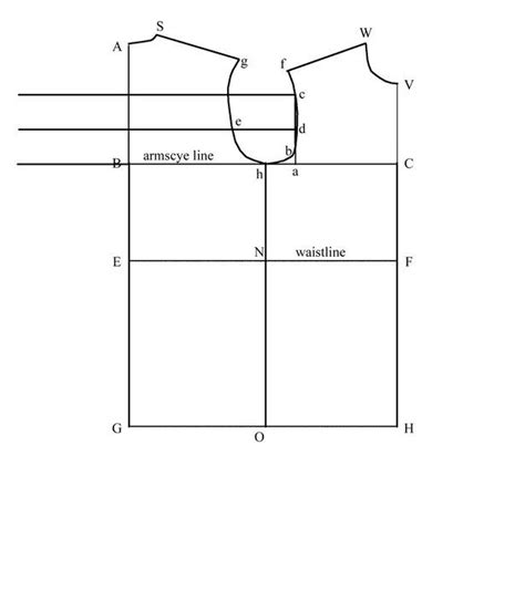 pattern drafting in clothing pattern drafting 101 the men s shirt sleeve block