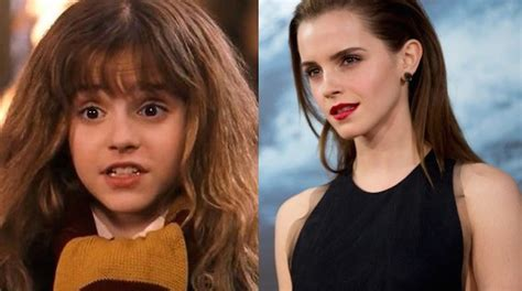 Watson Aka Hermione Im All Grown Up Now by This Is The Cast Of Harry Potter Then And Now They