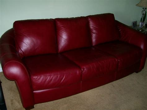 burgundy leather sofa and loveseat for classified