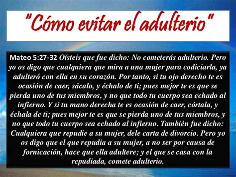 imagenes biblicas sobre el adulterio no al adulterio en el principio no fue asi