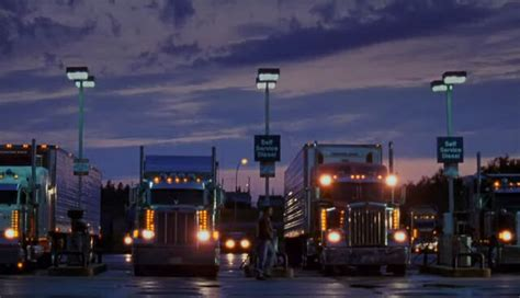 semi trucks  night wallpapers wallpapersafari
