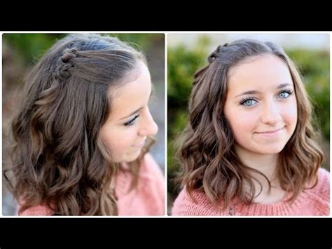 diy hairstyles for medium hair youtube diy triple knot accents hairstyles for short hair youtube