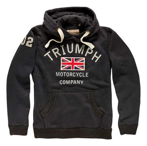 biker apparel triumph m c company hoody revzilla