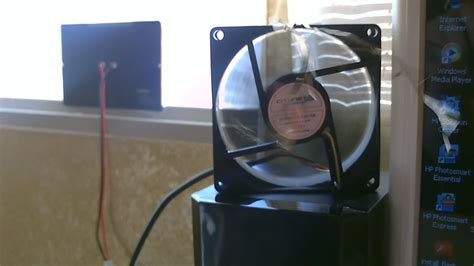 how to make a solar fan how to make a solar powered desk fan simple diy project