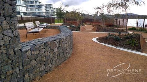 Landscape Structures Australia Permathene Au Gallery Gabions Canberra Kingston