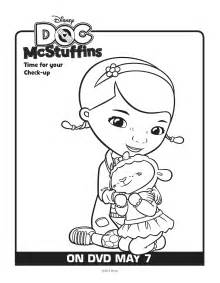 doc mcstuffin coloring pages free doc mcstuffins and lambie coloring pages